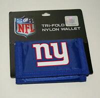 New York NY Giants NFL Football Team Logo Sturdy Cloth Wallet New on Card