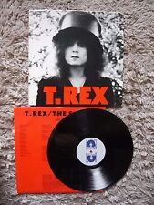 T. Rex T Rex The Slider Marc Bolan UK 1987 Marc On Wax Vinyl LP A1/B1 Matrix
