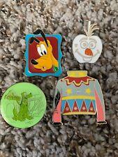 Disney Pin Lot Dumbo Pluto Olaf