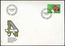 Svizzera 1981 BALLENBERG OPEN AIR MUSEUM FDC primo giorno di copertura con #C