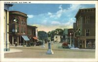 Old Town ME Folsom Square Postcard