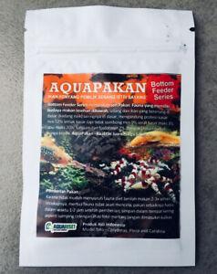 2 X PCS CATFISH FISH FEED FOOD FOR BOTTOM FEEDER 20G AQUARIUM TANK