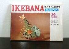 Ikebana Instruction Text Cards Japanese Flower Arrangements Toshio Shoji Japan