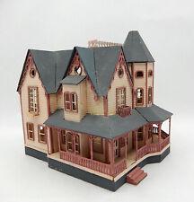 Vintage Victorian Mansion Dollhouse Miniature 1:144