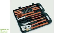 Barbecue Cooking Tool Set Landmann Bamboo 18Piece NEW