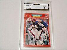 Thurman Thomas GRADED ROOKIE!! 1989 Pro Set #32 Bills HOFer! %8-1