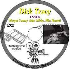 Dick Tracy Detective.1945 DVD Film Morgan Conway, Anne Jeffries, Mike Mazurki
