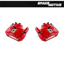 Front Red Brake Calipers For 1994 1995 1996 1997 1998 Ford Mustang BASE SN95