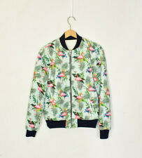 Zara Man Flamingo Bomber Jacket Medium