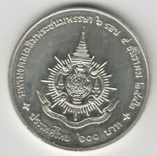 1999 König Bhumibol Y325 Rama 9 72nd Geburtstag Thailand 600 Baht silver coin