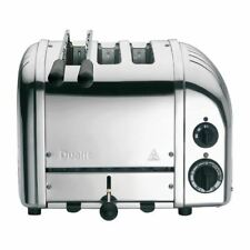 More details for dualit 2+1 combi vario 3 slice toaster polished stainless steel appliance