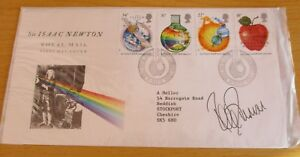 FDC (First Day Cover) Signed Peter Duncan, Chief Scout