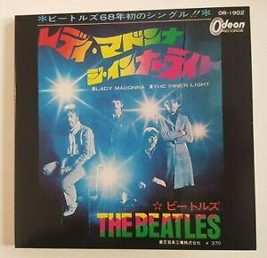 "THE BEATLES 2019 : LADY MADONNA ♦ JAPAN 1968 (Remastered 7"" Gatefold)"