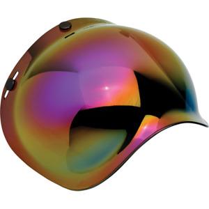 Biltwell Moto Bubble Shield Rainbow Mirror fits Gringo Bonanza ++  | 2001-223