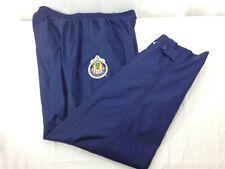 adidas Club Deportivo Chivas USA Mens Blue Lined Track Training Pants XL