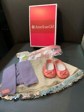American Girl  ISABELLE Metallic Dress Outfit, NEW In Box