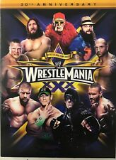 WWE - Wrestle Mania XXX 30th Anniver (3xDVD) Used