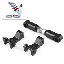 Front &Rear Lowering Kit Adjustable Black for Yamaha Raptor 700 350 660 700R ATV
