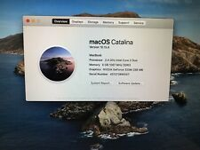 APPLE MACBOOK Laptop A1342 6gb RAM Catalina OS PERFECT! 100% Authentic!