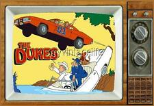 "THE DUKES Fridge MAGNET 2"" x 3"" art SATURDAY MORNING CARTOONS"