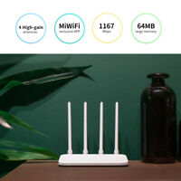Xiaomi Mi 4A 2.4/5GHz 128MB WiFi Router Repeater Signal Booster with 4 Antenna