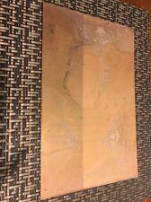 SOLID BRASS SHEET....050 (1.27mm) .... 9 X 14