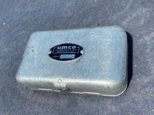 Vintage UMCO P 9 Double Sided Fishing Tackle Box