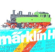 "Marklin AC HO 1:87 ""WÜRTTEMBERG"" Green T5 STEAM TANK LOCOMOTIVE MIB`80 RARE!"
