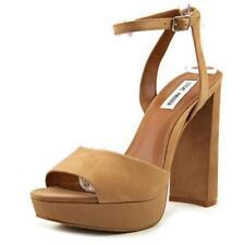 Zapatos de tacón de mujer plataformas Steve Madden color principal beige