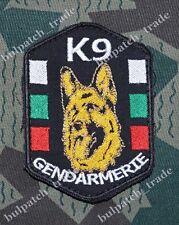 Bulgarian GENDARMERIE K9 POLICE Dog Squad Uniform PATCH