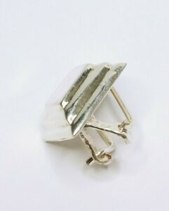 ✨ VINTAGE 925 Sterling Silver Marked NP Dimond Shaped Tie Clip