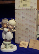 """Precious Moments 524921 """"Angels We Have Heard On High""""  VESSEL MARK IN BOX"""