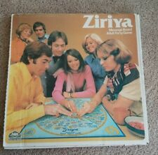 1975 Rare Vintage Ziriya Psychic Message Board  Adult Party Game w/ Box