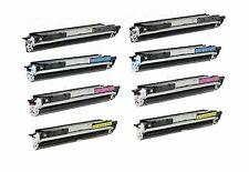 8-Pack/Pk CF350A CF351A CF352A CF353A 130A Toner For HP LaserJet M176n  M177fw