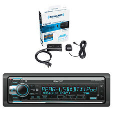 Kenwood Stereo Receiver with Bluetooth and Sirius Vehicle Satellite Radio Tuner