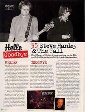 Hello, Goodbye Steve Hanley & The Fall Mojo Mag Cutting