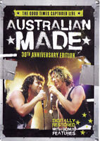 AUSTRALIAN MADE 2DVD NEW PAL Region 4 INXS Jimmy Barnes Triffids Divinyls Saints