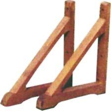 Coppia piedi piedini supporto per grigliato traliccio pannello in legno