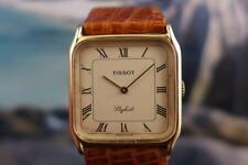 Gold Plated, Square, Vintage TISSOT Stylist  Men's/ Ladies Handwind 29mm