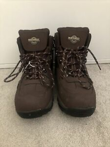 NORTHWEST TERRITORY Waterproof Leather Ankle Boots Hiking Walking Size 11