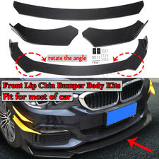 Carbon Front Bumper Lip Body Spoiler Kit For BMW F10 F30 F32 F36 F80 M3 F82 M4