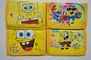 2 pcs SpongeBob SquarePants Kids Various Stocking Filler Wallet Purse Coins Bag