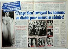 2003: MARLENE DIETRICH_HELENE SEGARA_ANDRE RIEU_Mimie MATHY_MISS FRANCE