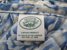 Vintage Laura Ashley Palace Garden Floral Coverlet Quilt Bed Cover Blanket Queen