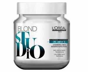 Loreal Blonde Studio Platinium Without Ammonia 17.6oz