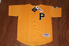 Pittsburgh Pirates Alternate Yellow Jersey w/Tags  Size 48 (Adult)