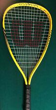 """ Wilson "" Crushing Power Titanium Racquetball Racquet Yellow X Small-3 7/8"