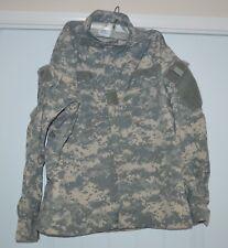ARMY COMBAT UNIFORM ACU JACKET Coat Men's Size Large Caribbean Needle Point Camo