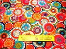 COLORFUL  UMBRELLAS  OR  PARASOLS   Cotton Fabric   By Yard