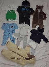 Lot of 13 Pcs Baby Boy Clothes Size 0 6 Month Bodysuit Romper Winter Boys Warm